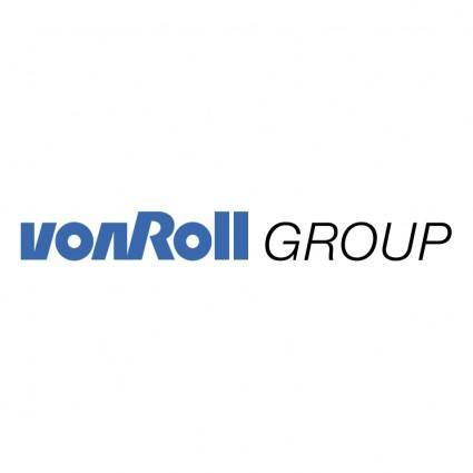 free vector Von roll group