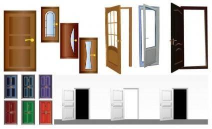 free vector Door security door vector