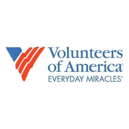 free vector Volunteers of america