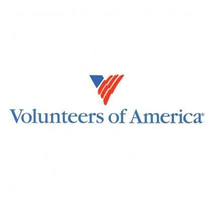 free vector Volunteers of america 0