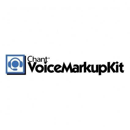 free vector Voicemarkupkit