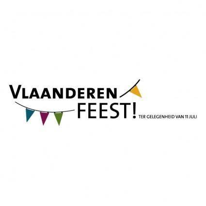 free vector Vlaanderen feest