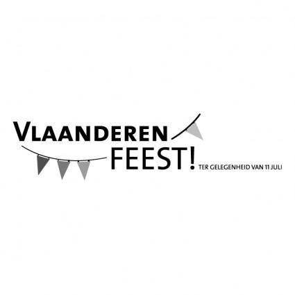 Vlaanderen feest 0