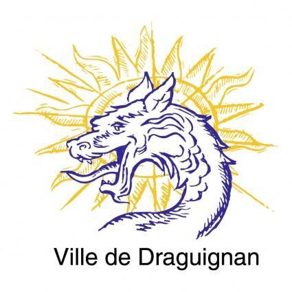 free vector Ville de draguignan