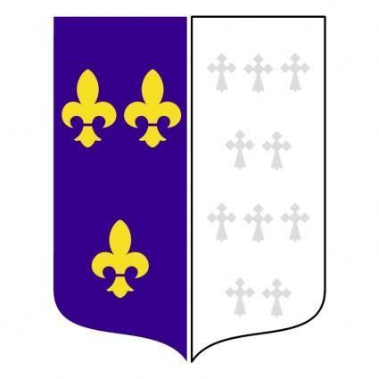 free vector Ville bourg la reine