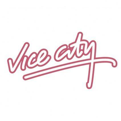 free vector Vice city