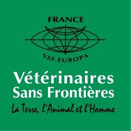 free vector Veterinaires sans frontieres