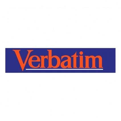 Verbatim 0