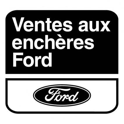 free vector Ventes aux encheres ford