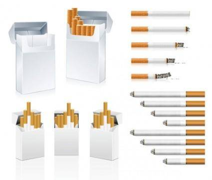 free vector Cigarette clip art