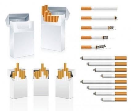 Cigarette clip art
