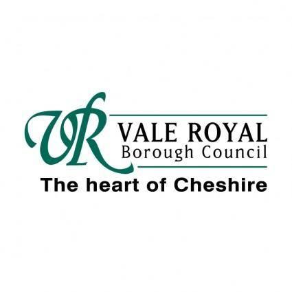 free vector Vale royal borough council