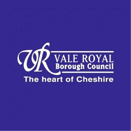 free vector Vale royal borough council 1
