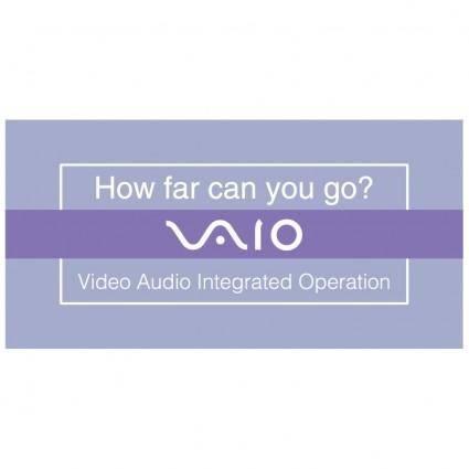 free vector Vaio how far can you go