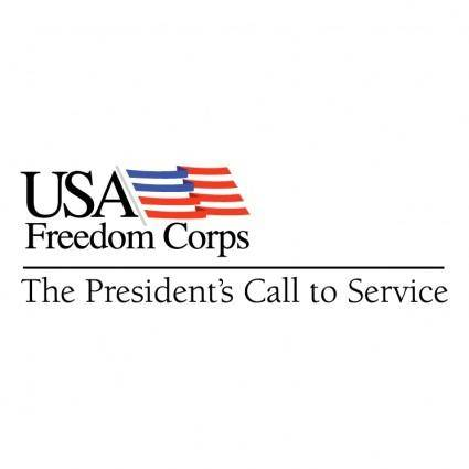 free vector Usa freedom corps