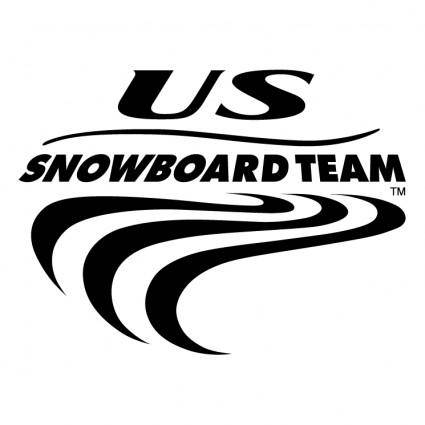 free vector Us snowboard team 0
