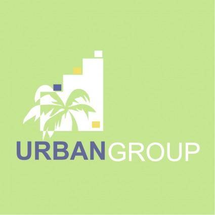 free vector Urban group