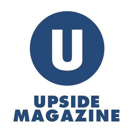 free vector Upside magazine