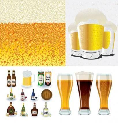 free vector Beer series vector