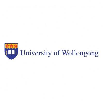 free vector University of wollongong 0