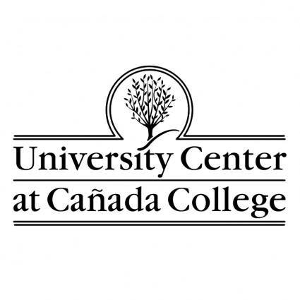 free vector University center at canada college