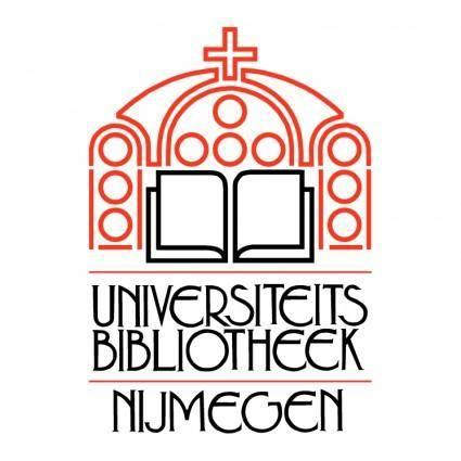 Universiteits bibliotheek nijmegen