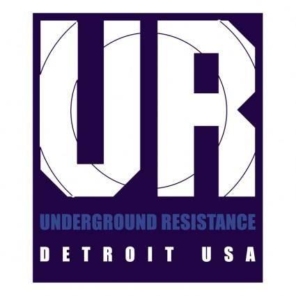 free vector Underground resistance
