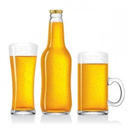 free vector Empty beer vector