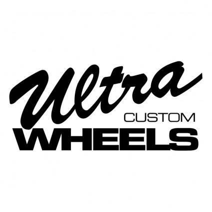 free vector Ultra custom wheels