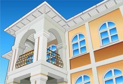 free vector Building series vector 2