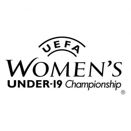 free vector Uefa womens under 19 championship