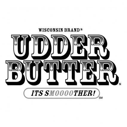 free vector Udder butter
