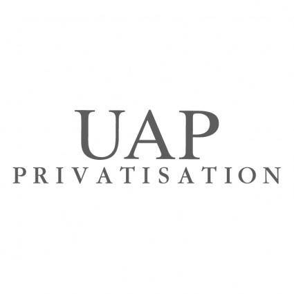 free vector Uap privatisation