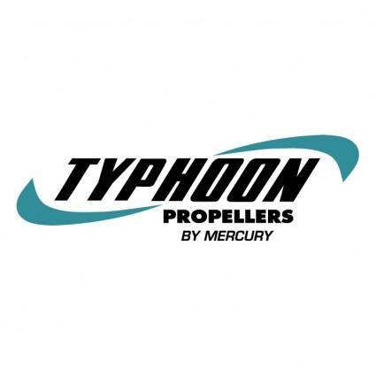 free vector Typhoon propellers