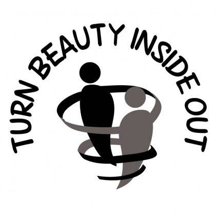 free vector Turn beauty inside out