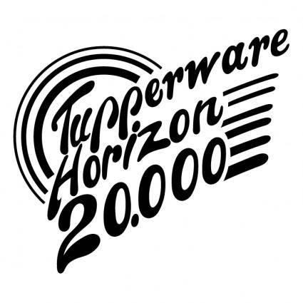 free vector Tupperware horizon 20000