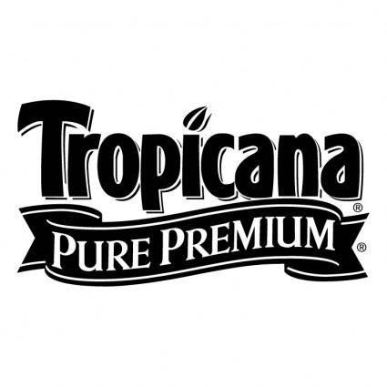 free vector Tropicana pure premium 0