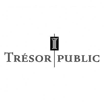 Tresor public