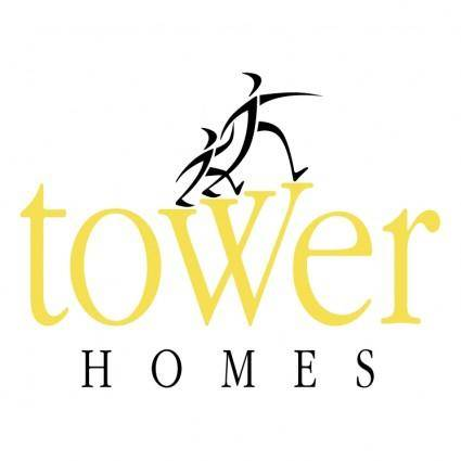 free vector Tower homes
