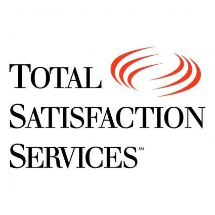 free vector Total satisfaction services