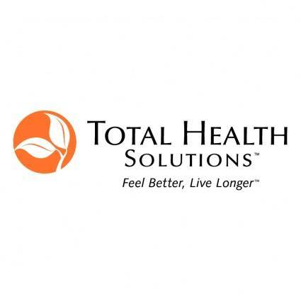 free vector Total health solutions