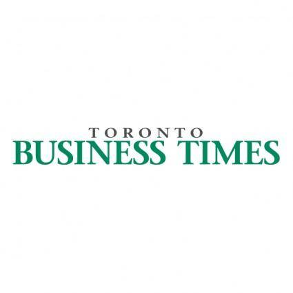 free vector Toronto business times