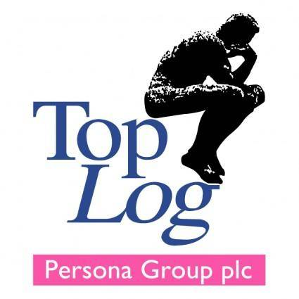 free vector Top log persona group