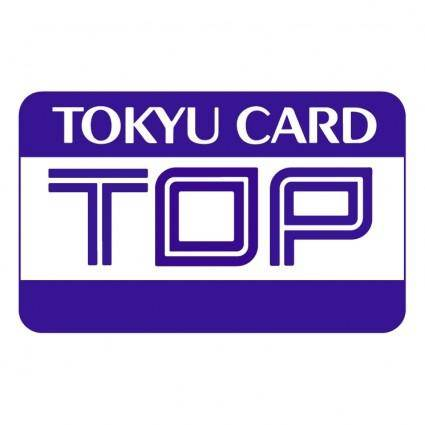free vector Tokyu card
