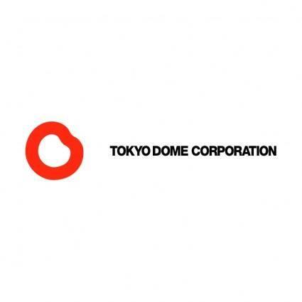 free vector Tokyo dome corporation