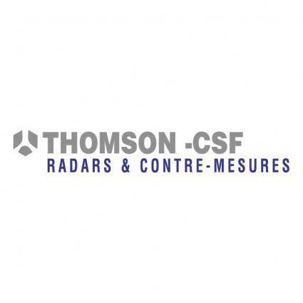 free vector Thomson csf