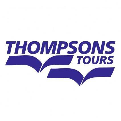 free vector Thompsons tours