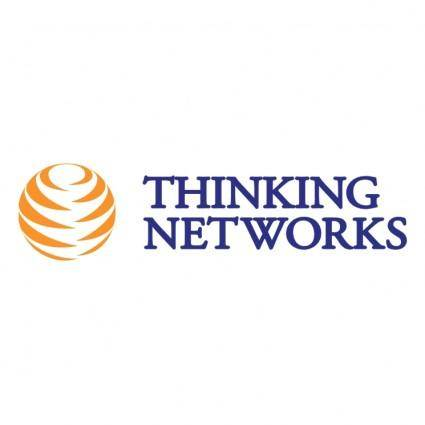 free vector Thinking networks