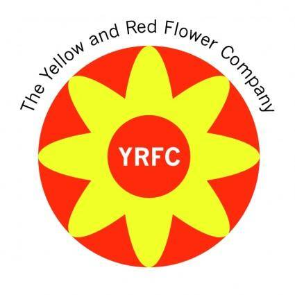 free vector The yellow and red flower company