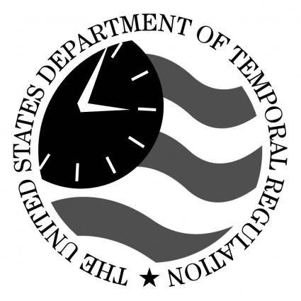 free vector The united states department of temporal regulation